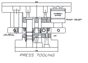 Press Tooling Drawing